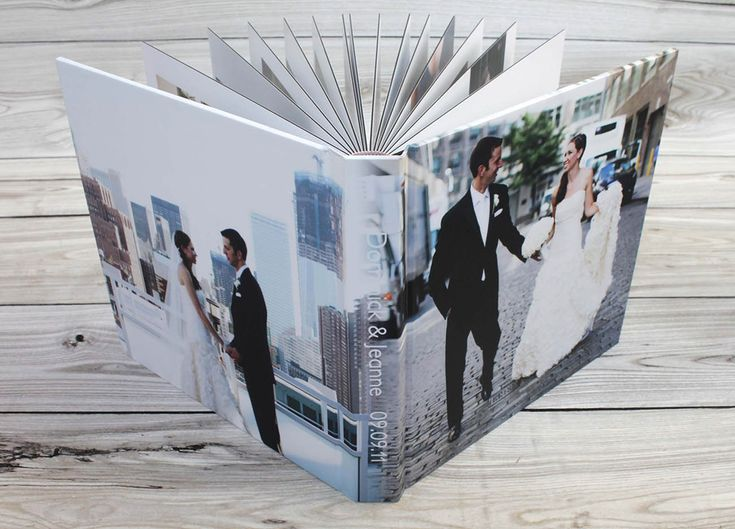 Affordable, High Quality Flush Mount Wedding Albums From Albums Remembered