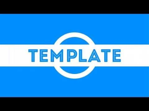 intro template sony vegas 12