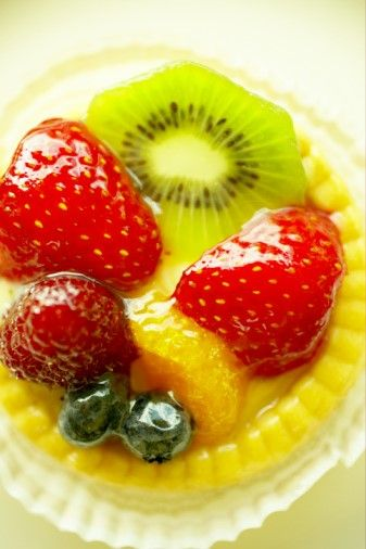 Be it decorating a cake, tart or pie.  If you are using fruits as part of your decoration, you'll need to apply a layer of glaze over it to ...