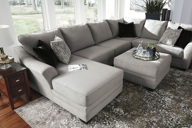 Palempor 3 Piece Laf Sectional In 2019 Living Room Decor