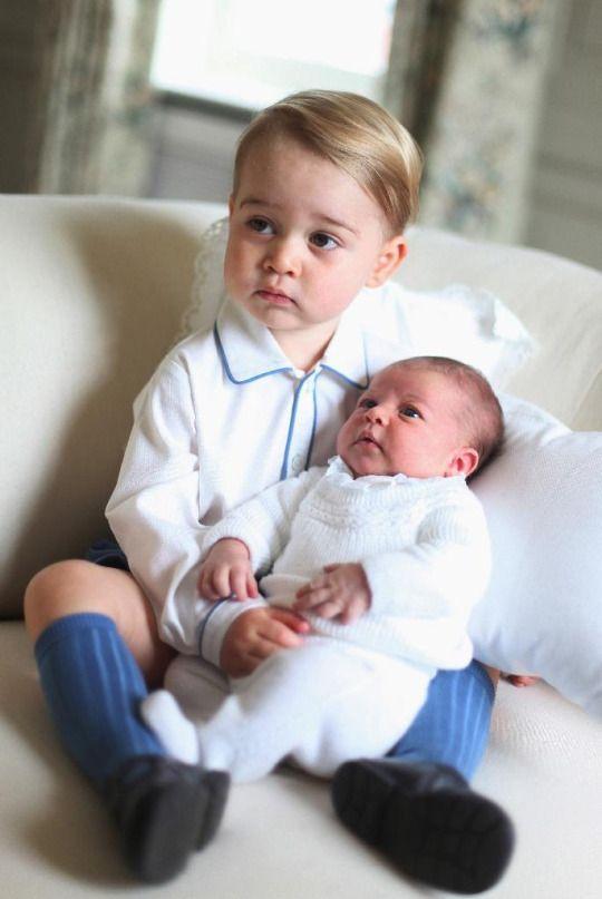 Prince George & Princess Charlotte ~ June 6, 2015