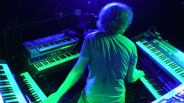 Jan Hammer - Crocketts Theme (performed live by Kebu @ Dynamo, Turku, 5.5.2012)