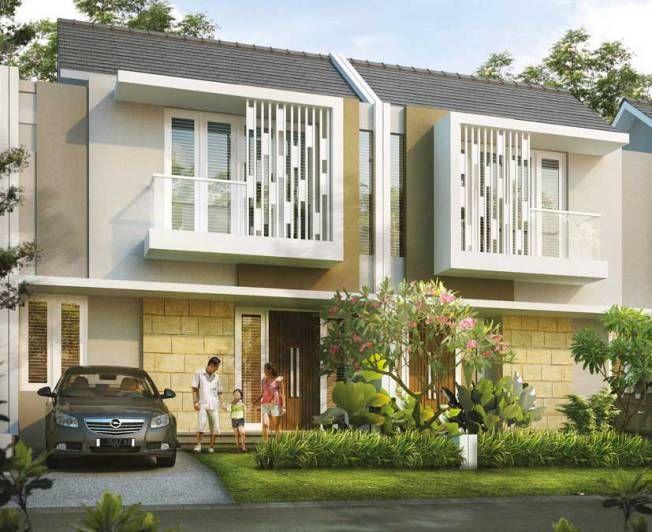 Tipe carsington tipe moraine citragran cibubur house exterior designhouse