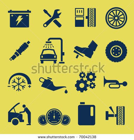 20 Best Automotive Iconography Images On Pinterest Icons 3d