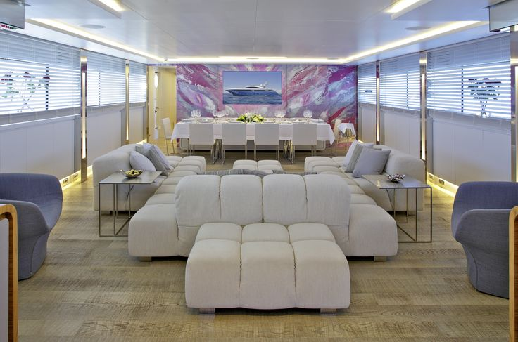 MY Barents Sea Yacht in Greece - Inside the yacht