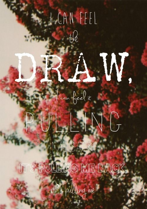 the draw by bastille meaning