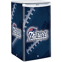 New England Patriots Countertop Fridge..want for my dorm when i go to college