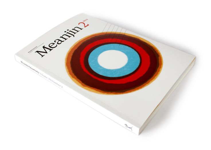 The cover of the winter issue of literary journal Meanjin sees a cover typographic interpretation of climate change designed by Letterbox as well as a 15 part essay on typographic stories and culture entitled 15pt. #graphicdesign #graphic #design #identity #print #typography #characters #letterbox #stephenbanham #type #studio #melbourne #australia