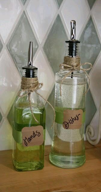 Ideas para organizar con frascos de vidrio http://cursodeorganizaciondelhogar.com/ideas-para-organizar-con-frascos-de-vidrio/