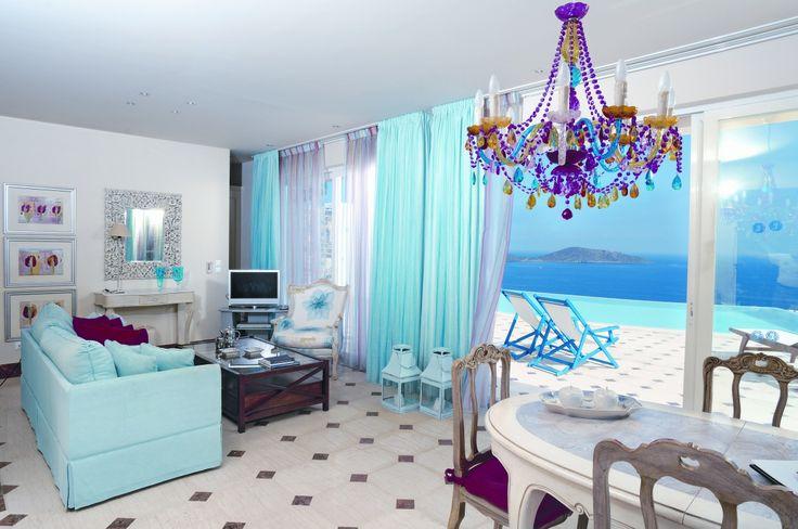 Elounda Gulf Villas in Elounda, outstanding views from every villa and suite