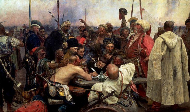Тайны великих картин: «Запорожцы» » Женский Мир