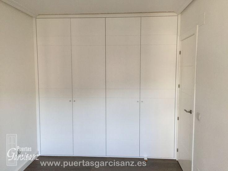 68 mejores im genes sobre armarios de puertas abatibles en - Puertas abatibles para armarios empotrados ...