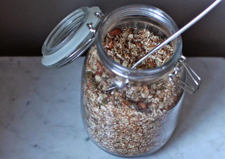 Müsli med poppet amaranth | The Kitchn Queen