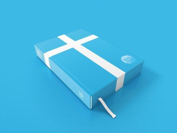 color & ribbon bookmark