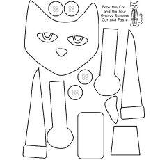 Pete The Cat Pumpkins Coloring Pages