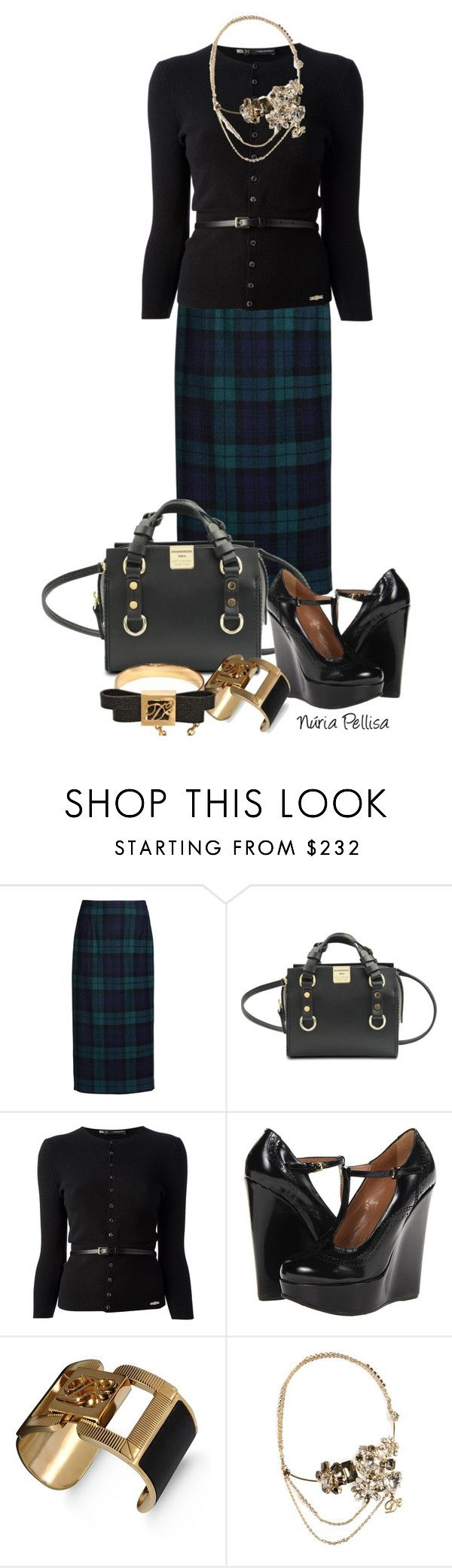 """Dsquared2"" by nuria-pellisa-salvado ❤ liked on Polyvore featuring Dsquared2, WorkWear and fallfashion"