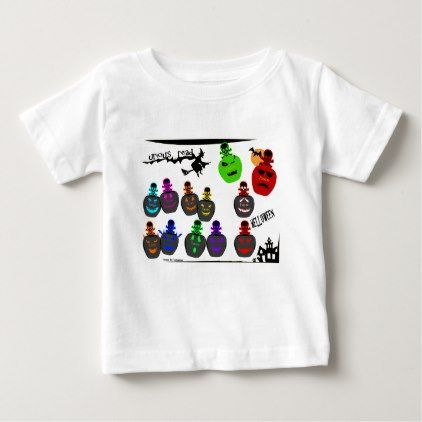 #Halloween Perfume Bottle Emoji Baby T-Shirt - #Halloween #happyhalloween #festival #party #holiday