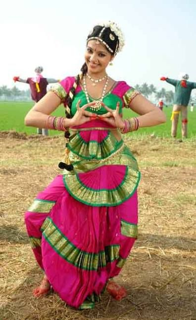 Bharatanatyam originated in southern India in the state of Tamilnadu. It started as a temple dance tradition called Dasiyattam (the dance of the maid-servants) 2000 years ago and is perhaps the most advanced and evolved dance form of all the classical Indian dance forms.