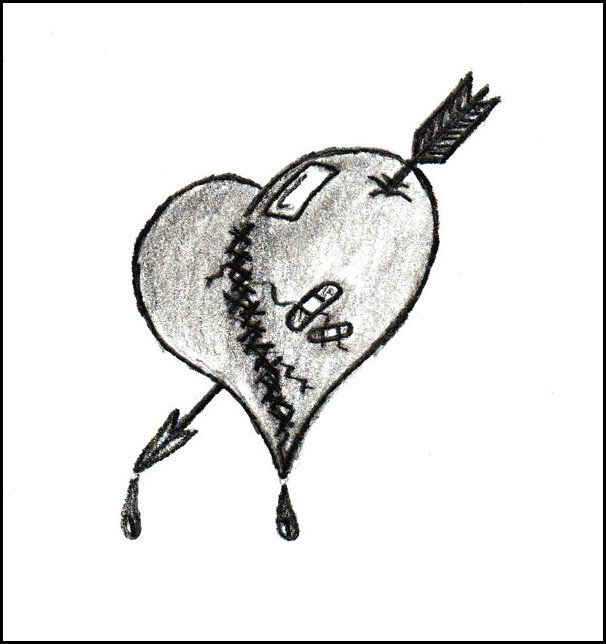 Heart Tattoos With Image Tattoo Designs Especially Broken Picture 3