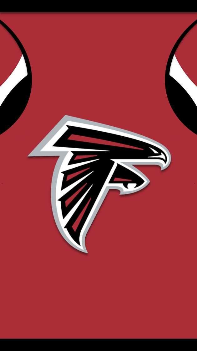 I Made Phone Wallpapers Based On The Jerseys Of Every Nfl Team With Throwbacks As An Added Bonus Atlanta Falcons Football Atlanta Falcons Wallpaper Nfl Teams Logos Atlanta falcons phone wallpaper