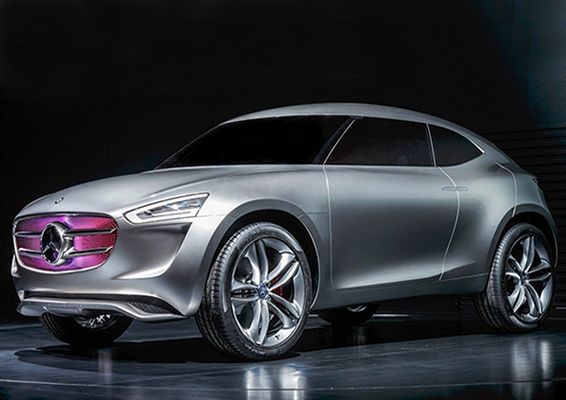 New Mercedes Benz Concept Car is Powered by its Paint | Inhabitat - Sustainable Design Innovation, Eco Architecture, Green Building