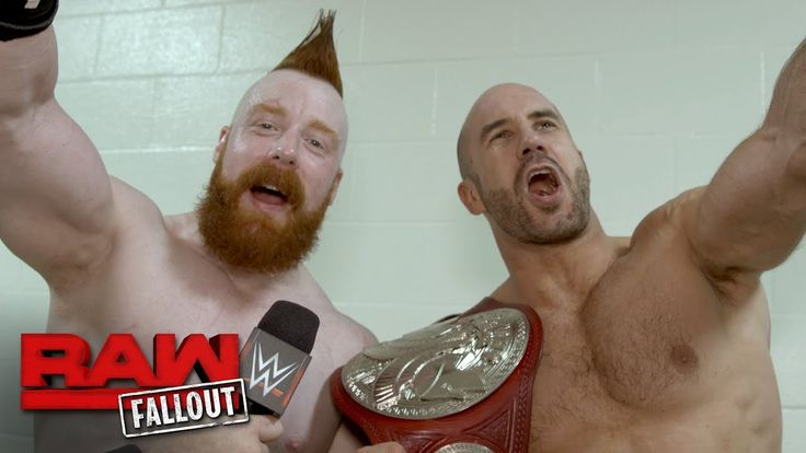 Cesaro & Sheamus on why The Hardys got lucky: Raw Fallout, June 12, 2017 - http://newsaxxess.com/cesaro-sheamus-on-why-the-hardys-got-lucky-raw-fallout-june-12-2017/
