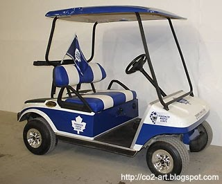 Official playoff vehicle of the Toronto Maple Leafs