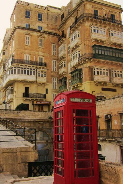 Have been here and these are ever present in Valletta, Malta. Malta Direct will help you plan your getaway - http://www.maltadirect.com