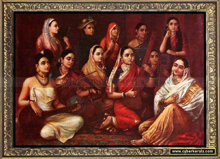 Galaxy of Musicians- by Raja Ravi Verma