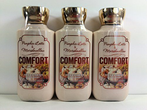 Bath & Body Works Comfort Pumpkin Latte & Marshmallow Body Lotion 8oz - Lot of 3 Bath & Body Works http://www.amazon.com/dp/B00Q0M2R6C/ref=cm_sw_r_pi_dp_eVkVub0TKQAHX