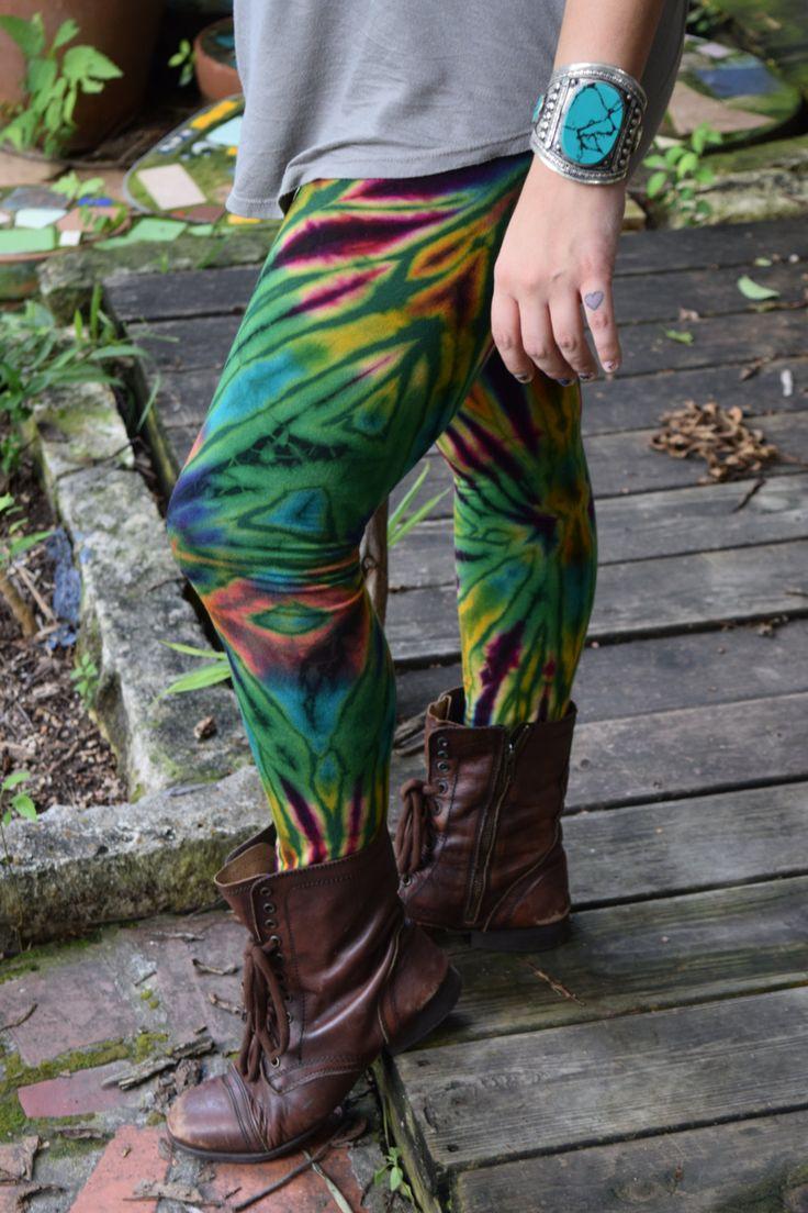 tie dye pants, yoga pants, tie dye tights,festival pants, comfy pants, hippie pants, flow clothing,dance pant, nia clothing by RileyDoRight on Etsy