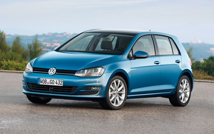 Volkswagen Golf TDI Blue Color