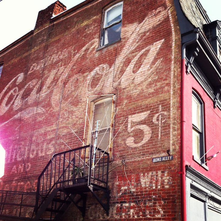 Haunted Places Near York Pa: Ghost Sign - Coca Cola York PA