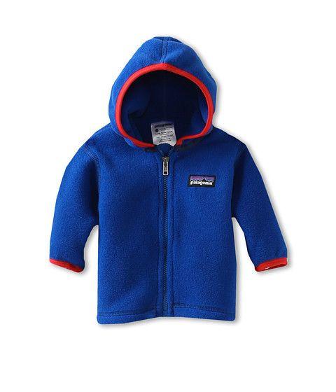 Patagonia Kids Baby Synchilla® Cardigan (Infant/Toddler) Viking Blue - Zappos.com Free Shipping BOTH Ways