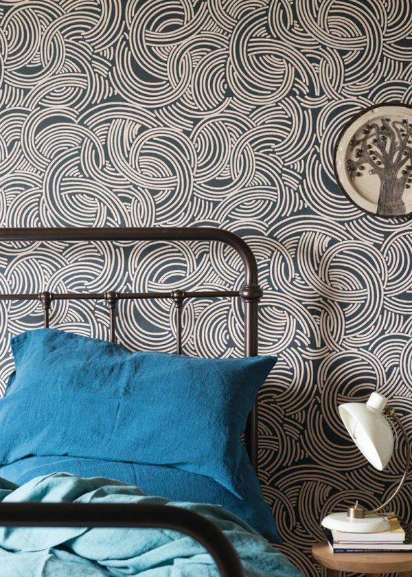 17 best images about wallpaper on pinterest paper laura. Black Bedroom Furniture Sets. Home Design Ideas