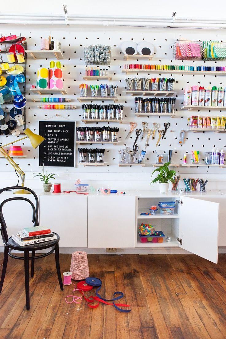 769 best kids room images on pinterest child room for Kids craft room