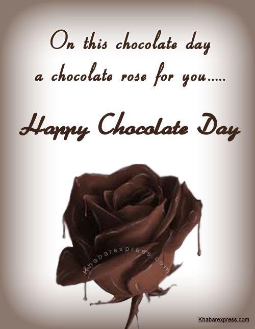 Happy Chocolate day cardsc