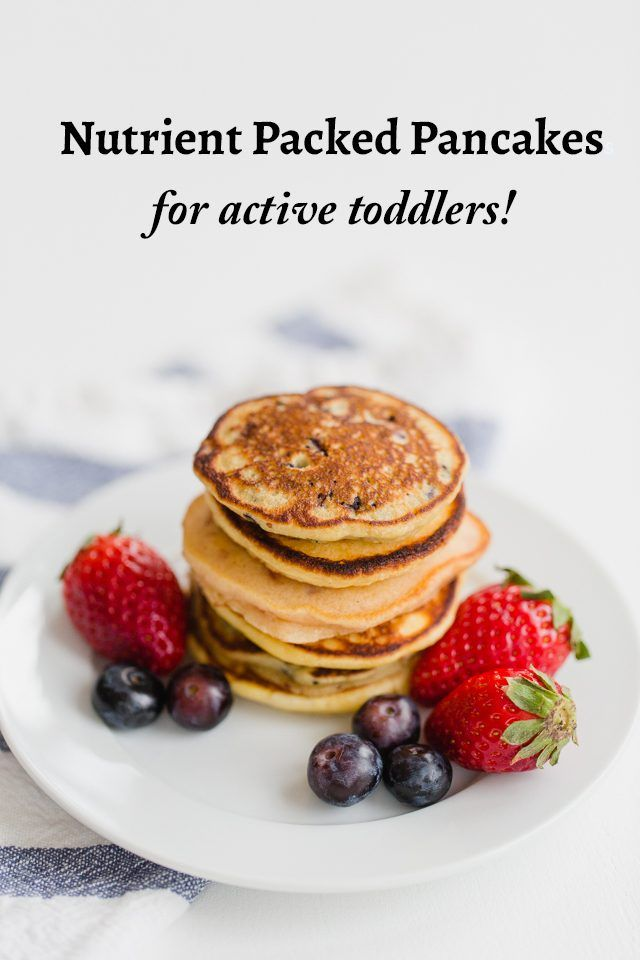 Nutrient-Packed Pancakes for Active Toddlers and older kids!