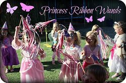 Ribbon Wands - girl stockings