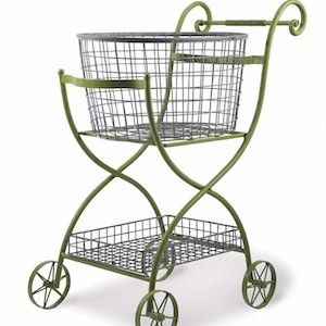 metal shopping cart decorative shopping cart home grocery cart decor rolling laundry basket