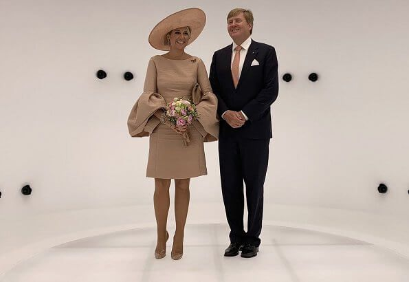 King Willem Alexander And Queen Maxima Visited Brandenburg