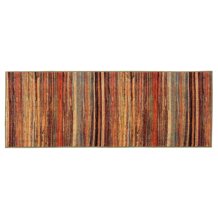Ottomanson Authentic Collection Nonslip Contemporary Multi-color Abstract Stripes Design Area Rug (2'3 x 6'0) | Overstock.com Shopping - The Best Deals on Runner Rugs