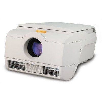Mark IV Opus Opaque Projector. MARK4OPUS Features: -Product Type:Opaque -Lamp Changer Included:No -Lumens:12000 -Head Type:Closed -Number of Items Included:1 -Bulb Included:Yes -Cart Kit Included:No -Arm Included:No -Handles Included:No -Portable:No -Commercial Use:Yes. Dimensions: -Overall Height - Top to Bottom:13.2 -Overall Width - Side to Side:19.2 -Overall Depth - Front to Back:23.6 -Overall Product Weight:44.