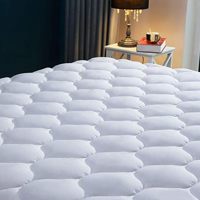 Snuzzzz Quilted Fitted Cooling Mattress Pad Cooling Mattress Pad