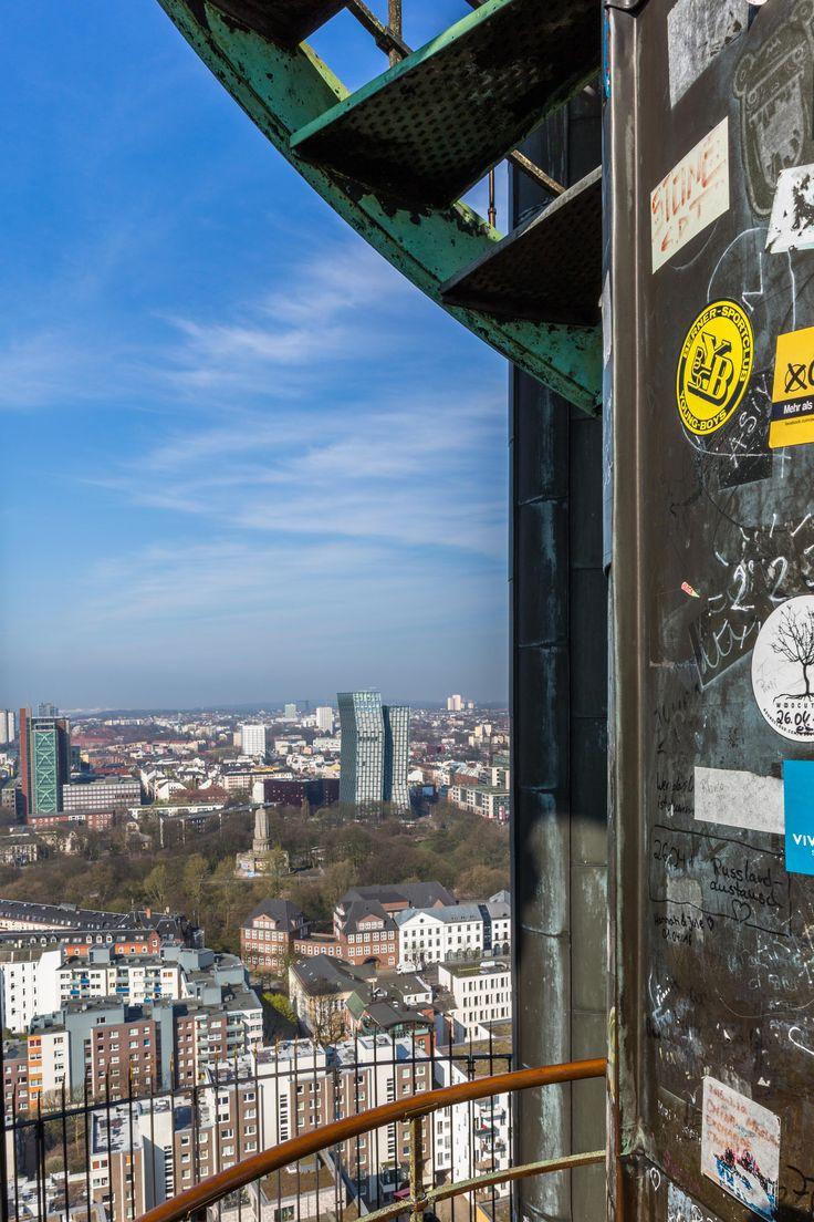 Freitreppe auf dem Michel | Bildschönes Hamburg