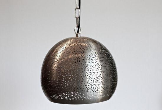 Nickel Matte Fez Pendant – Urban Lighting
