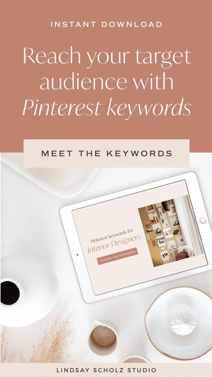 Pinterest Keywords For Interior Designers In 2020 With Images Pinterest Keywords Design Branding Design