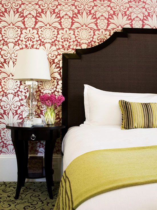 Pretty Headboard Decorating Ideas Stains Guest Rooms