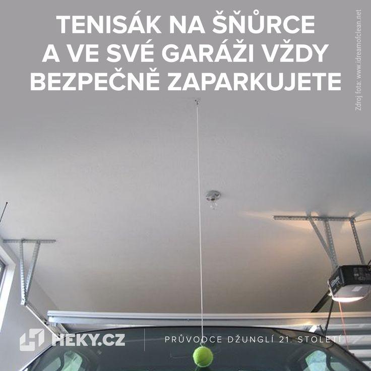 Tenisák na šňůrce a v garáži vždy bezpečně zaparkujete.