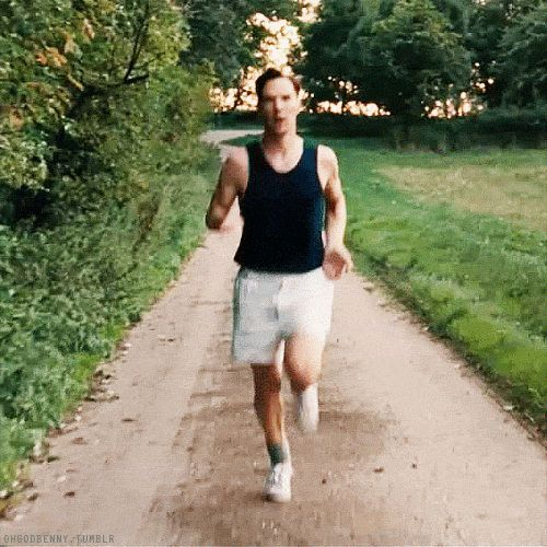 """""""Keep running Benny! I'm right here!!!!!""""  ( from THE IMITATION GAME)"""